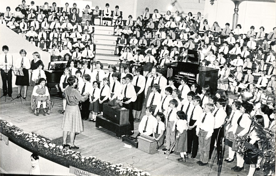 Beechwood School with Miss A Cook in 1982