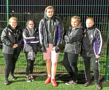 Teenagers from Torry and Northfield are taking on the Duke of Edinburgh's Award with help from the Streetsport initiative
