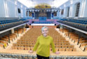 Jane Spiers, chief executive of Aberdeen Performing Arts at the new refurbished Aberdeen Music Hall.