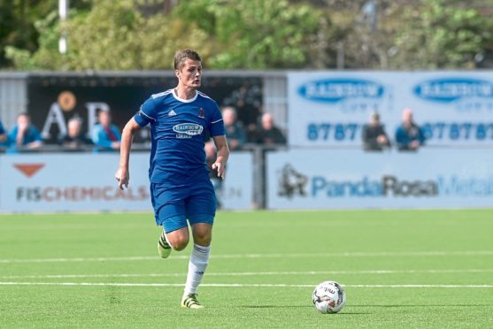 Daniel Park in action for Cove.