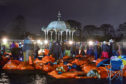 Around 1,800 people slept out in Aberdeen's Duthie Park