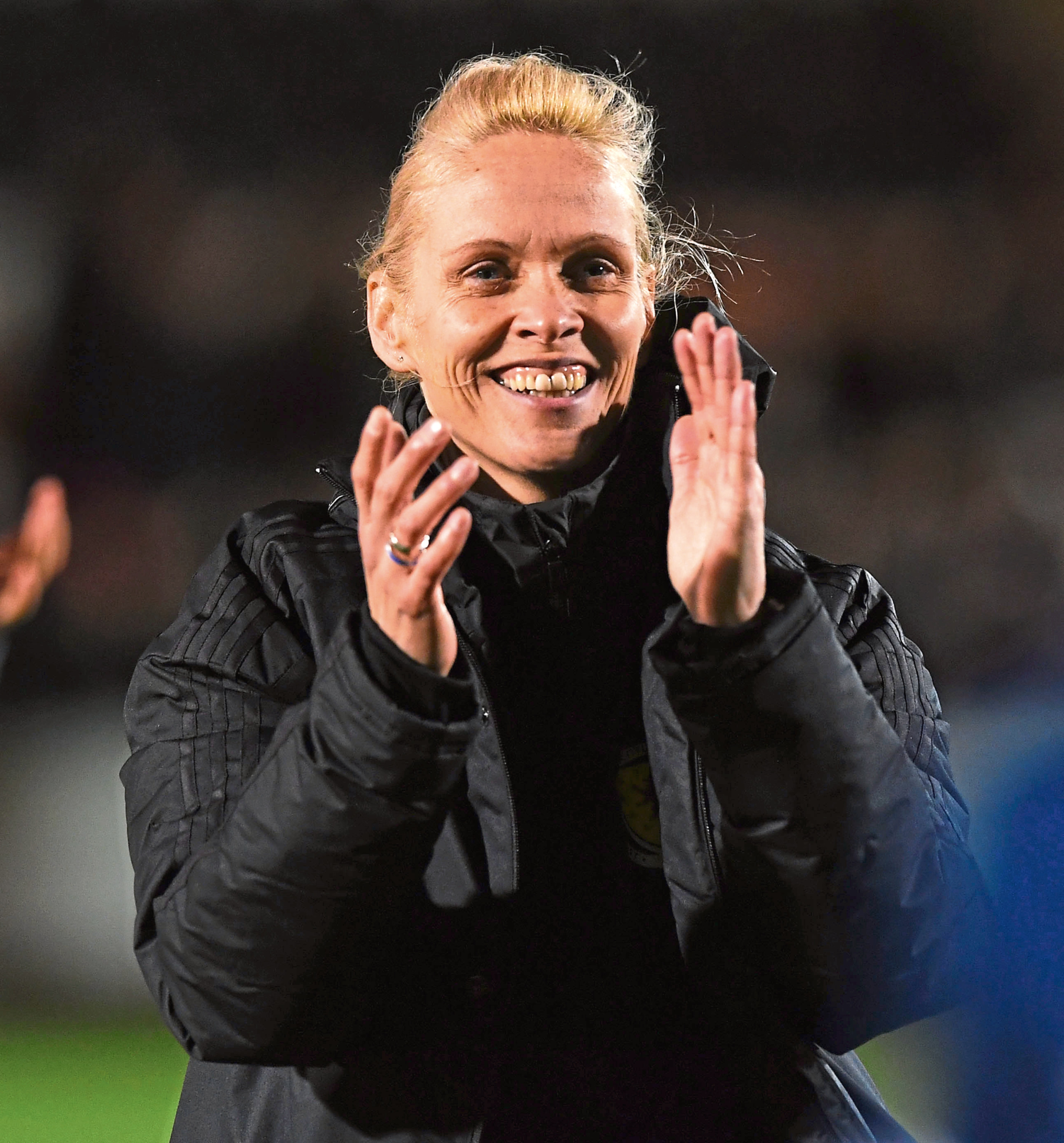 Scotland manager Shelley Kerr.