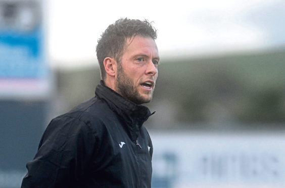 Formartine manager Paul Lawson. Picture by DARRELL BENNS