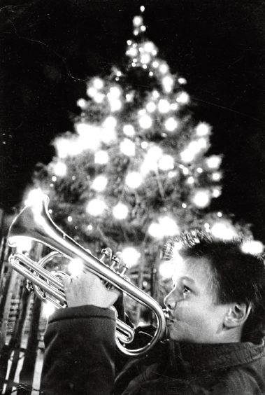 1988: Calum McIntyre heralds the coming of Christmas