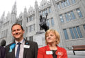 Aberdeen City Council co-leaders Jenny Laing and Douglas Lumsden have asked for an extra £20 million funding