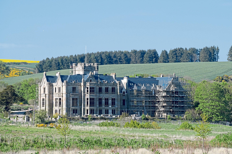 Ury Estate mansion