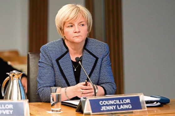 Councillor Jenny Laing