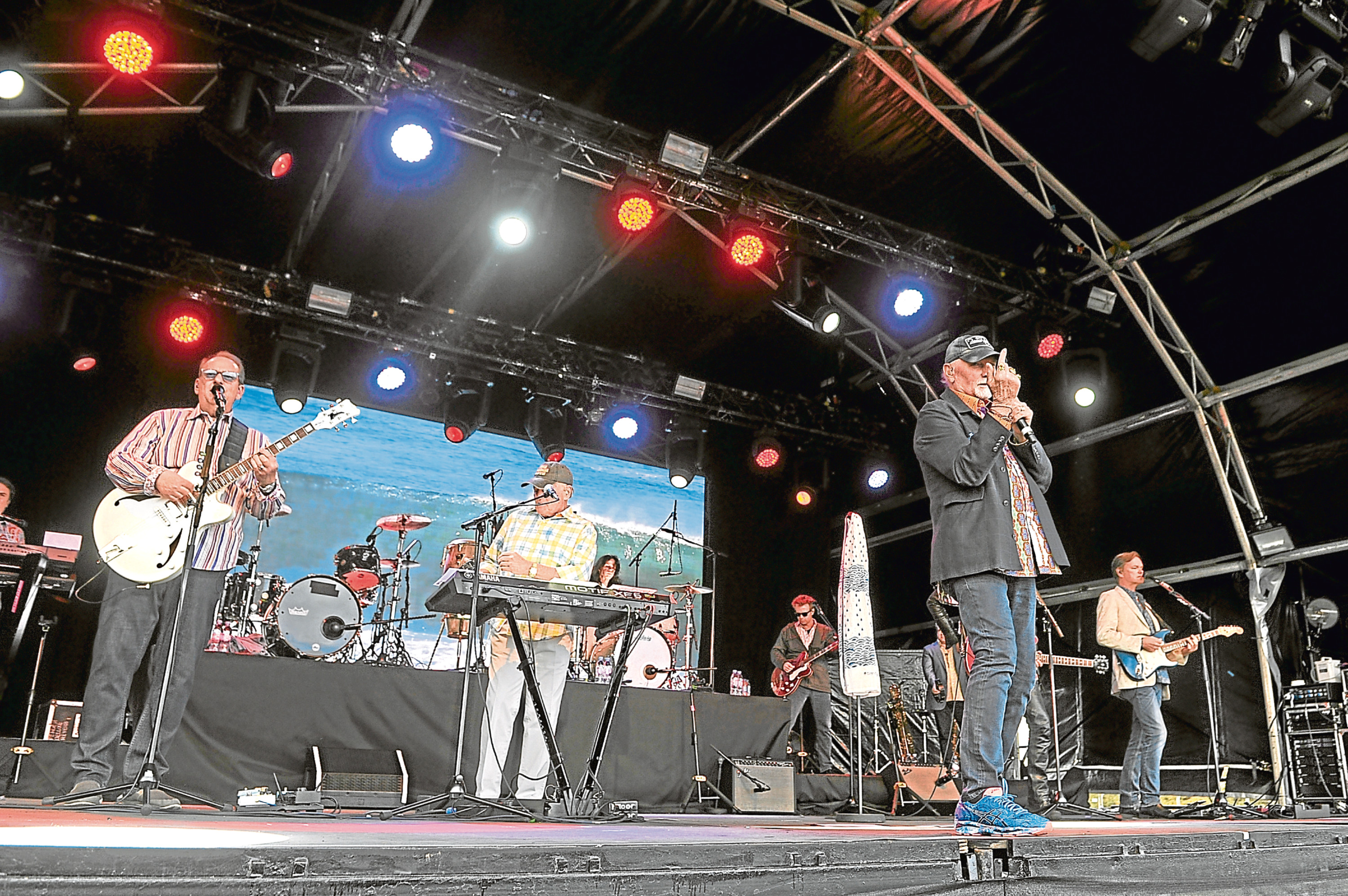 The Beach Boys were the headline act at the Montrose Music Festival in 2017.