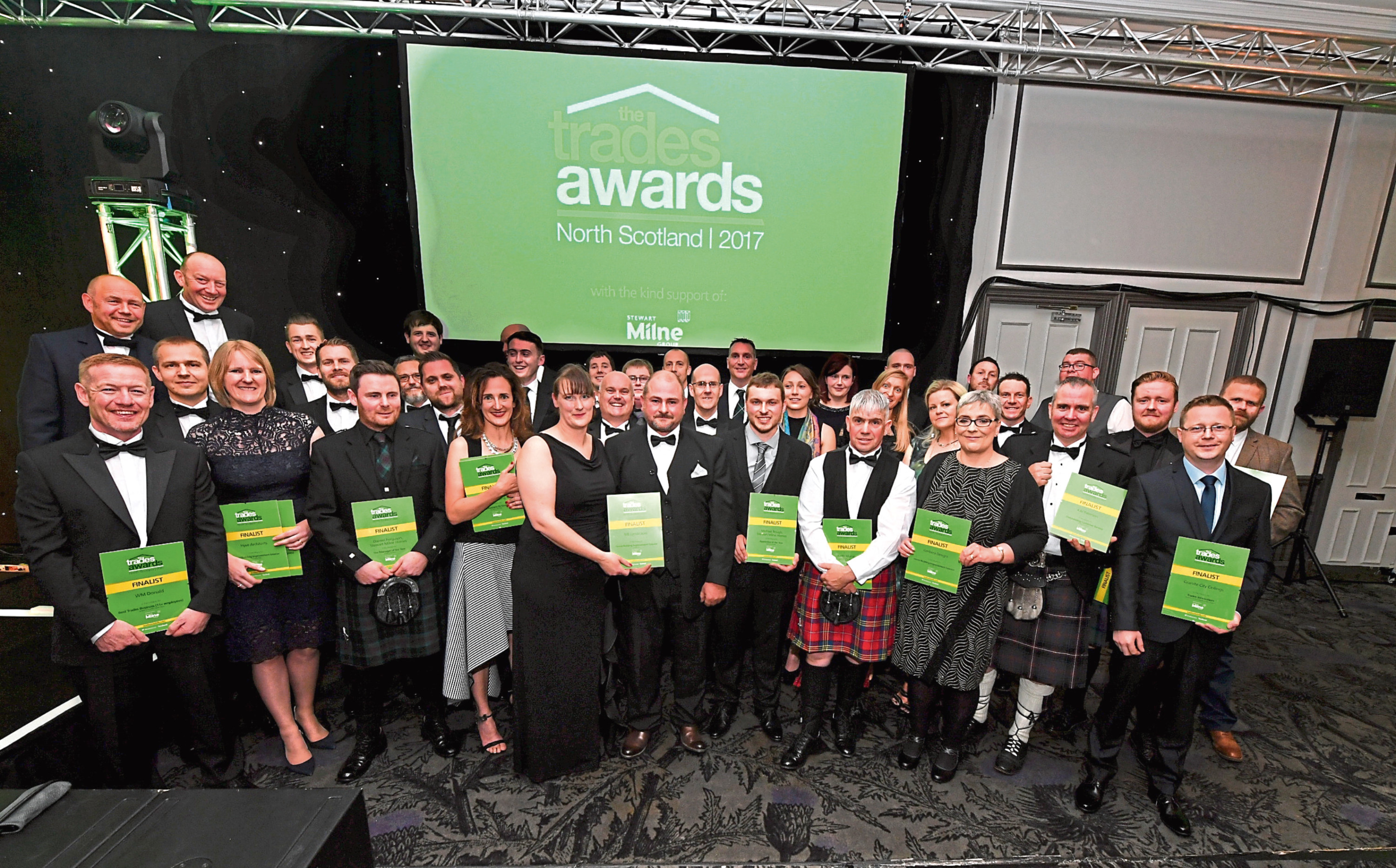 The finalists at last year's event