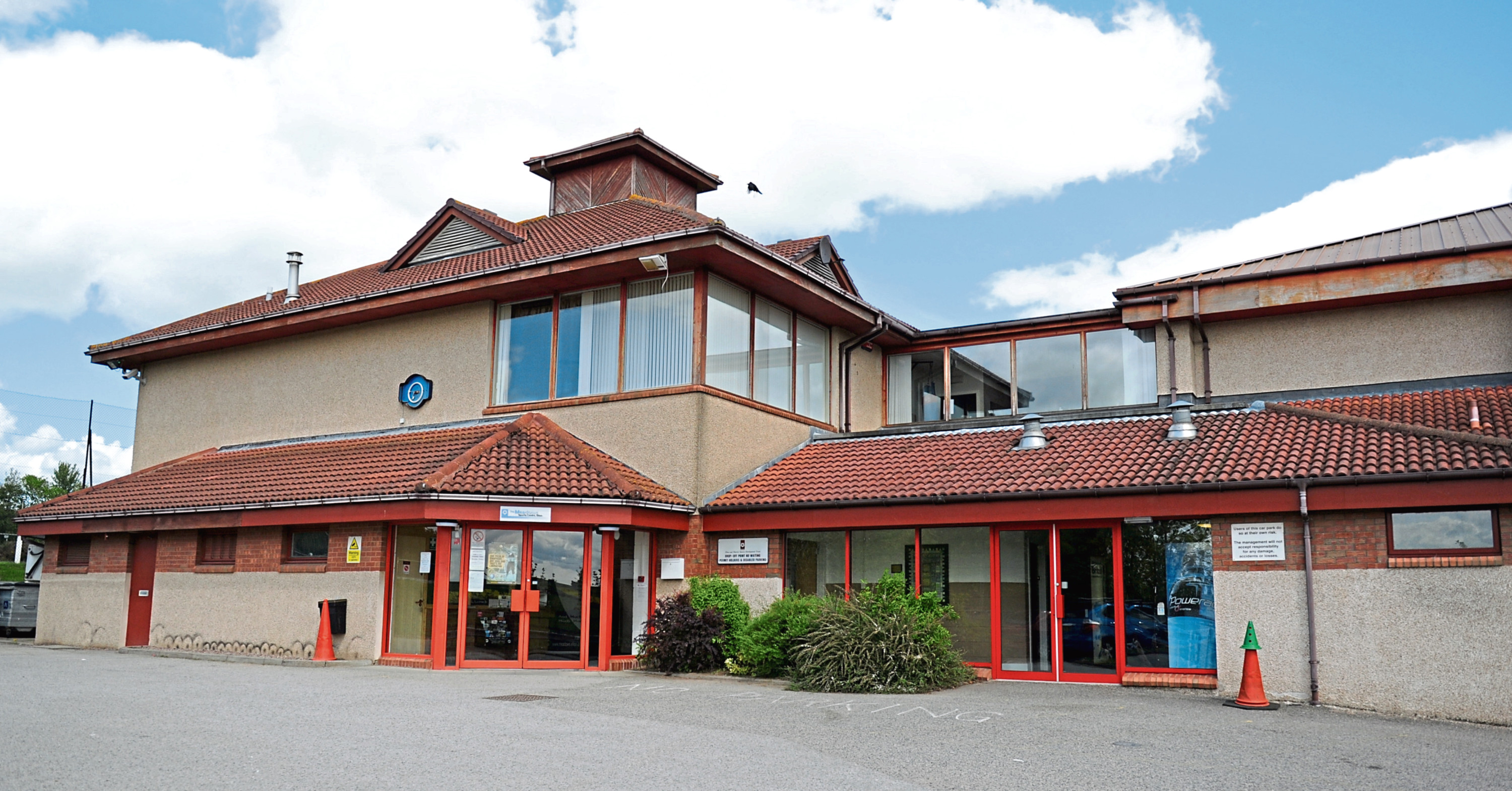 Funding is hoped to be granted to refurbish the staffing desk at The Meadows Sports Centre in Ellon