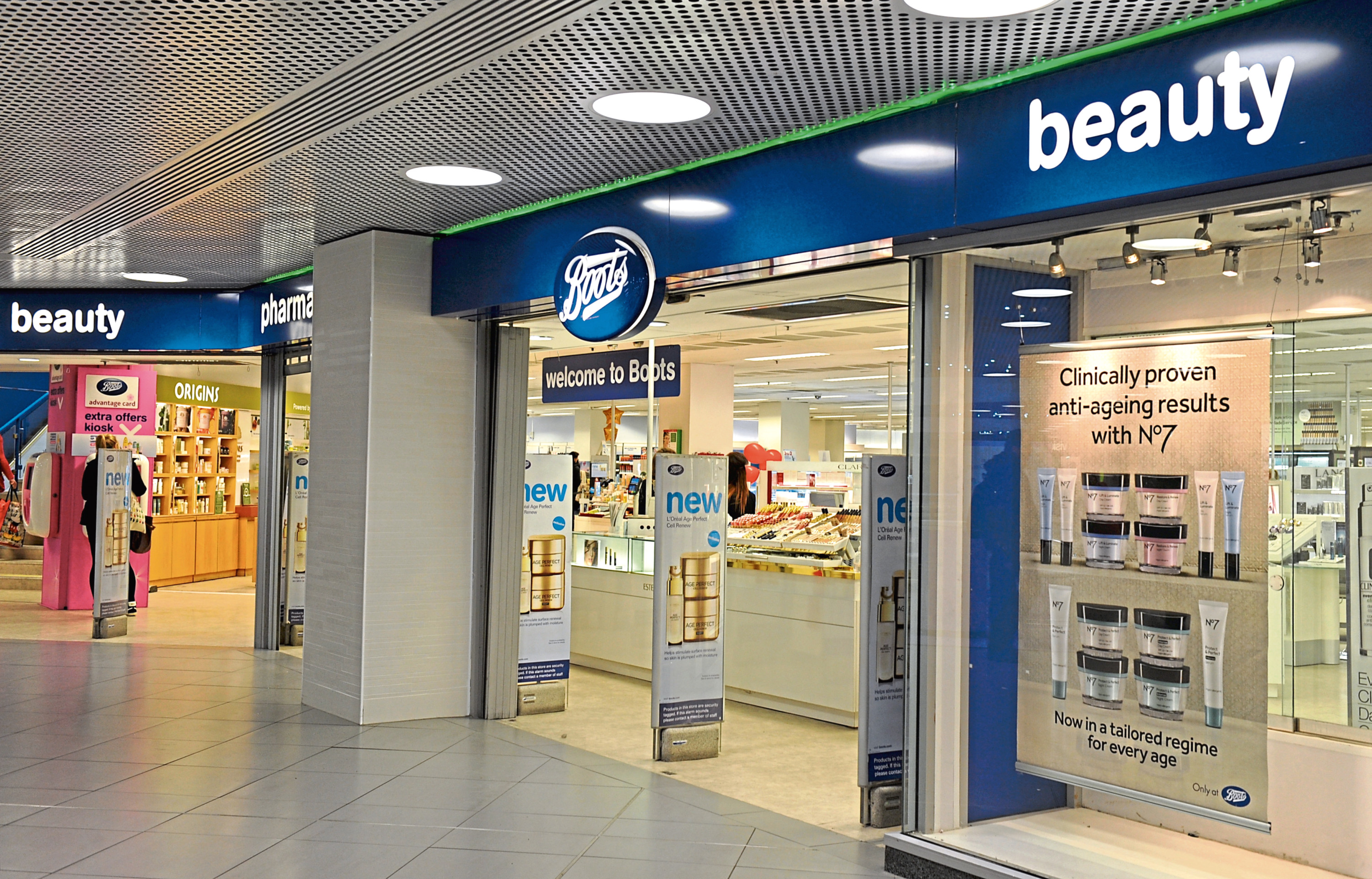 Boots in the Bon Accord