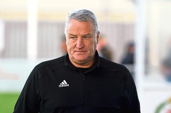 Cove Rangers manager John Sheran