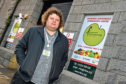 Graeme Robbie, of CFINE, says donations to the foodbank have soared in the last year