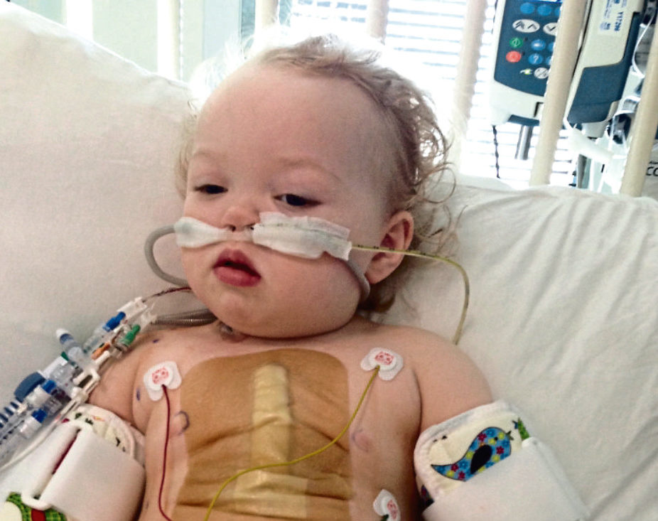 Savannah Fenwick had suffered breathing problems since she was born on 2016