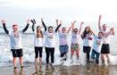 Brave souls take part in last year's Nippy Dip