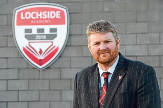 Lochside Academy's head teacher Neil Hendry