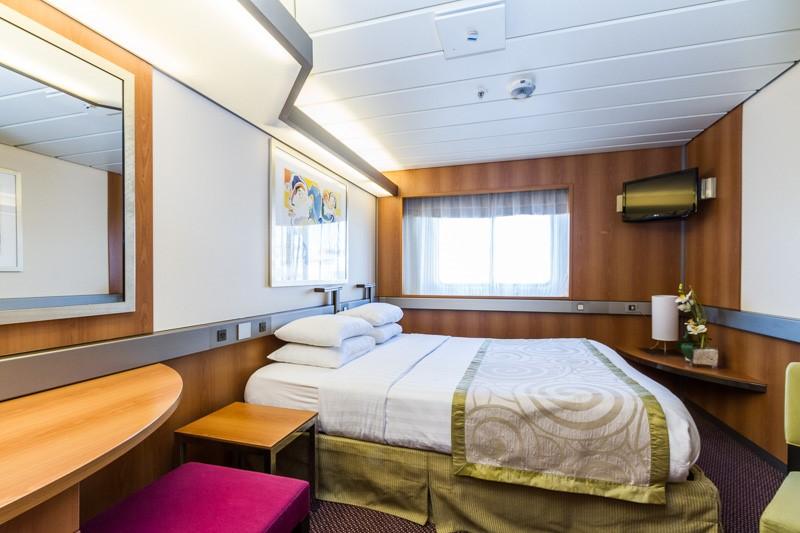 A premium twin inner cabin