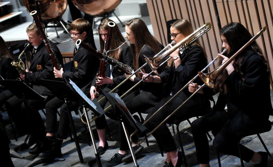 Mackie Academy Concert band.