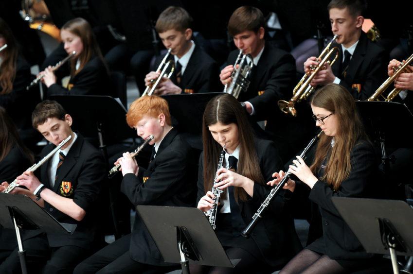 Mackie Academy Concert band