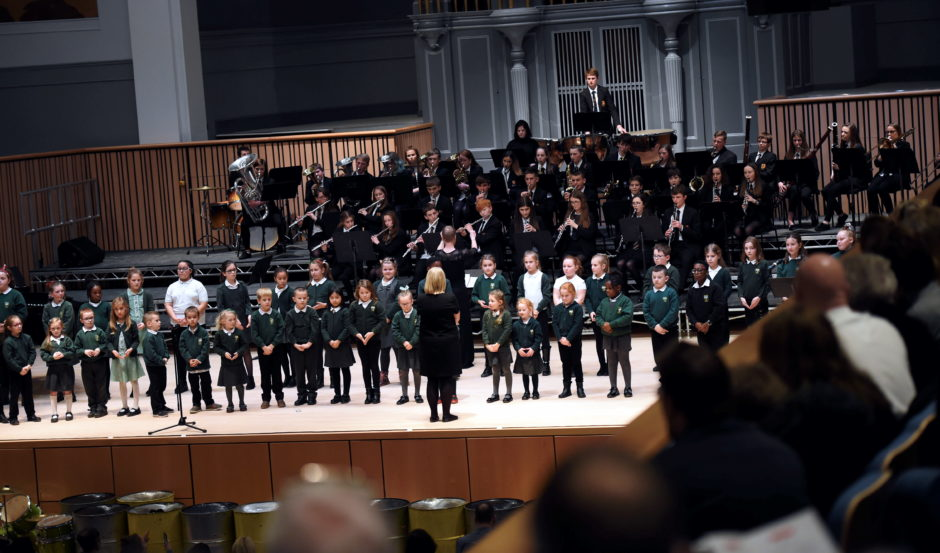 Aberdeen School of the Deaf/Sunnybank Primary and Mackie Academy Concert band