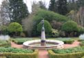 The fountain at Crathes Castle