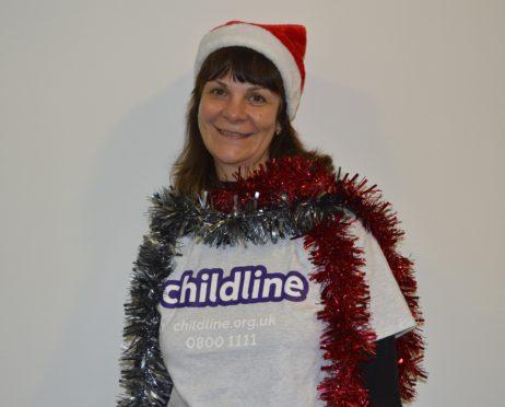 Childline volunteer Lisa Simons
