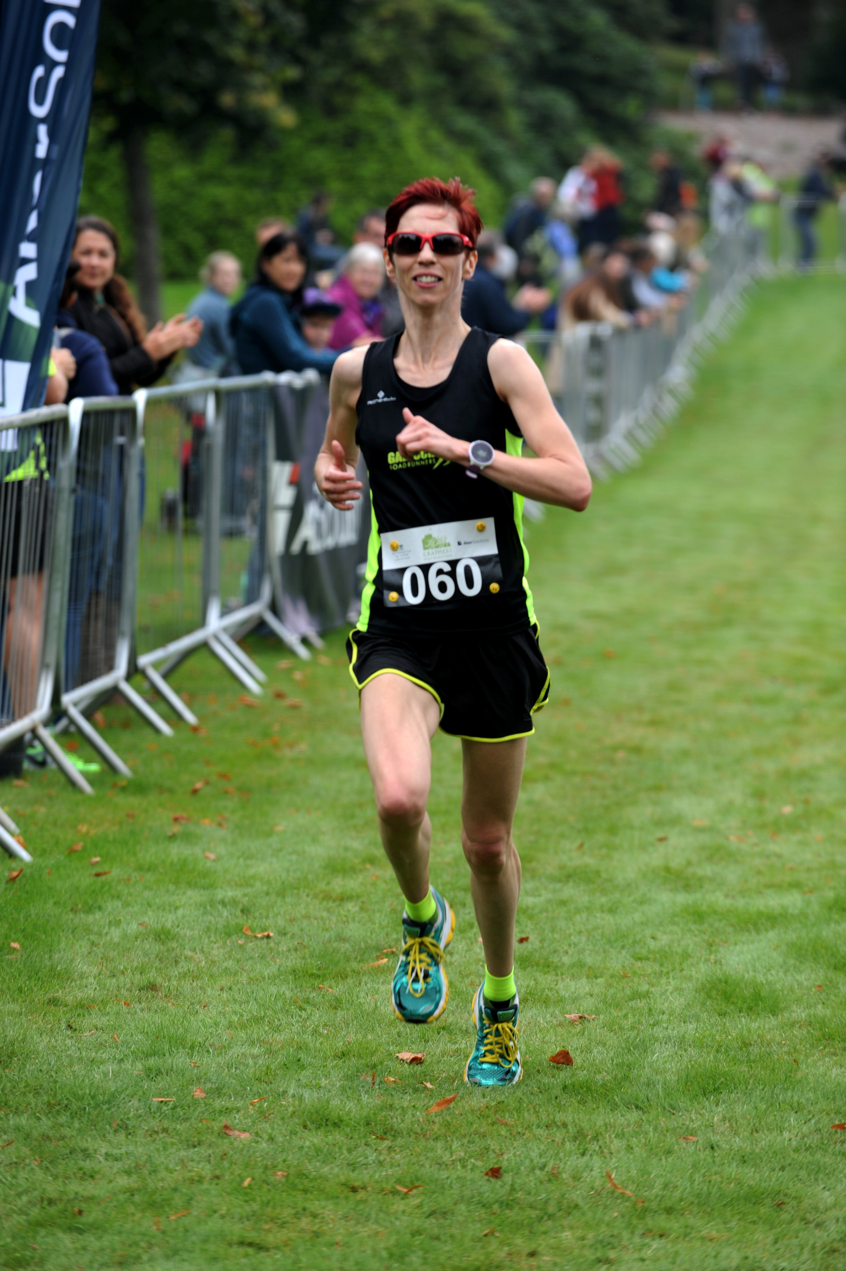 Runner Marie Baxter. Picture by Kenny Elrick.
