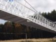 The Polhollick Bridge in Ballater was damaged during Storm Frank in 2015