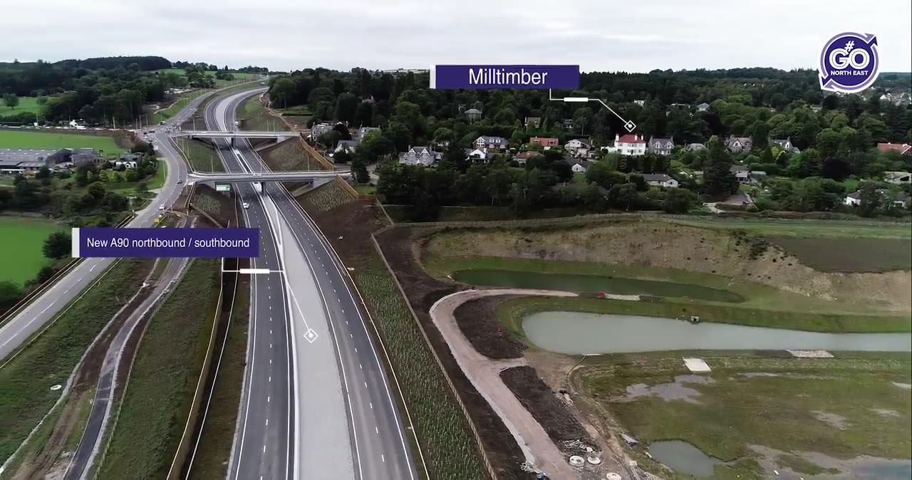The new Deeside junction