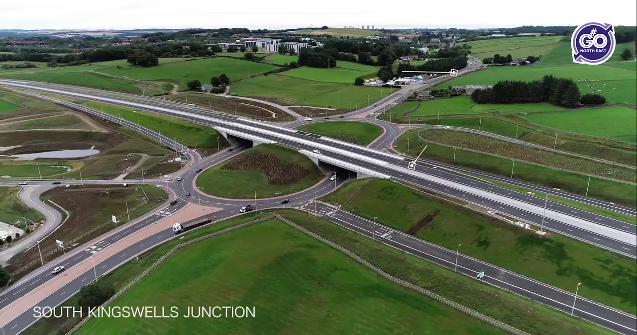 The South Kingswells junction