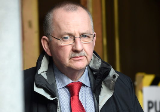 Robert Weir appeared at Aberdeen Sheriff Court