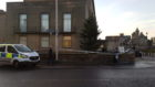 Police are currently on the scene at the Town House in Kirkcaldy