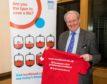 MSP Stewart Stevenson praised the initative
