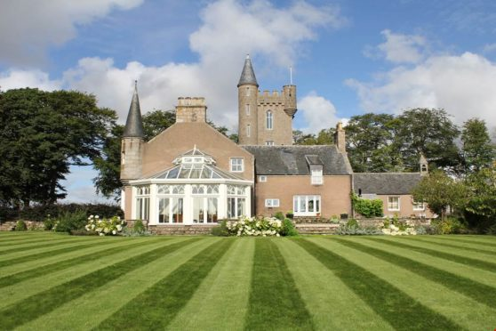 Harlaw House is just two miles outside Inverurie