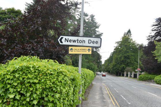 Newton Dee village in Aberdeen.