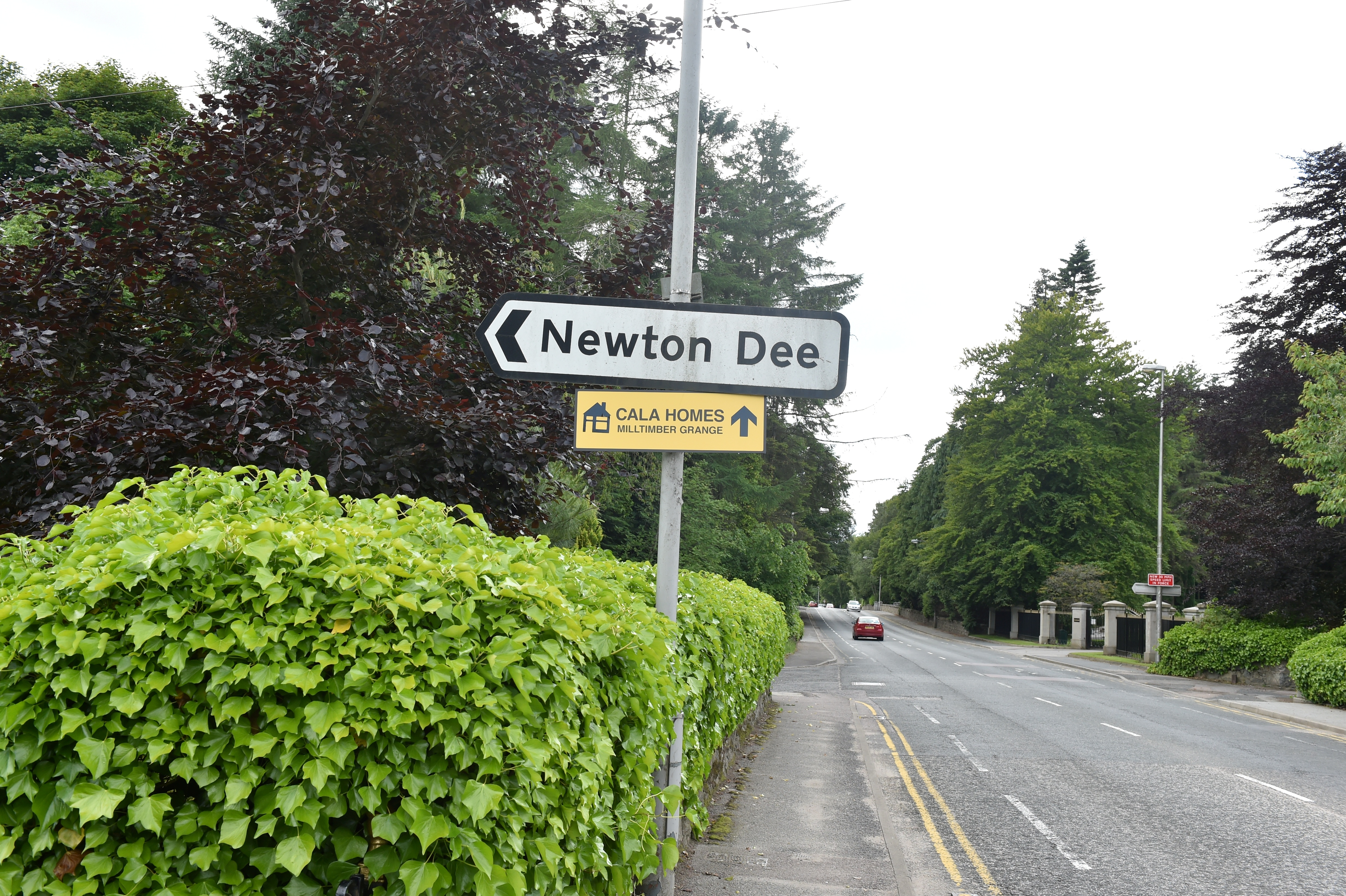 Newton Dee village in Aberdeen.