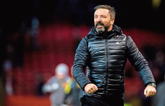 Aberdeen manager Derek McInnes.