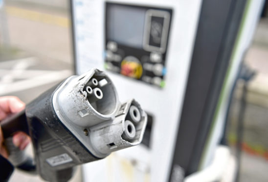 Charging points cross Aberdeenshire are being replaced