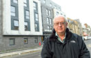 George Street community council chairman Andy MacLeod