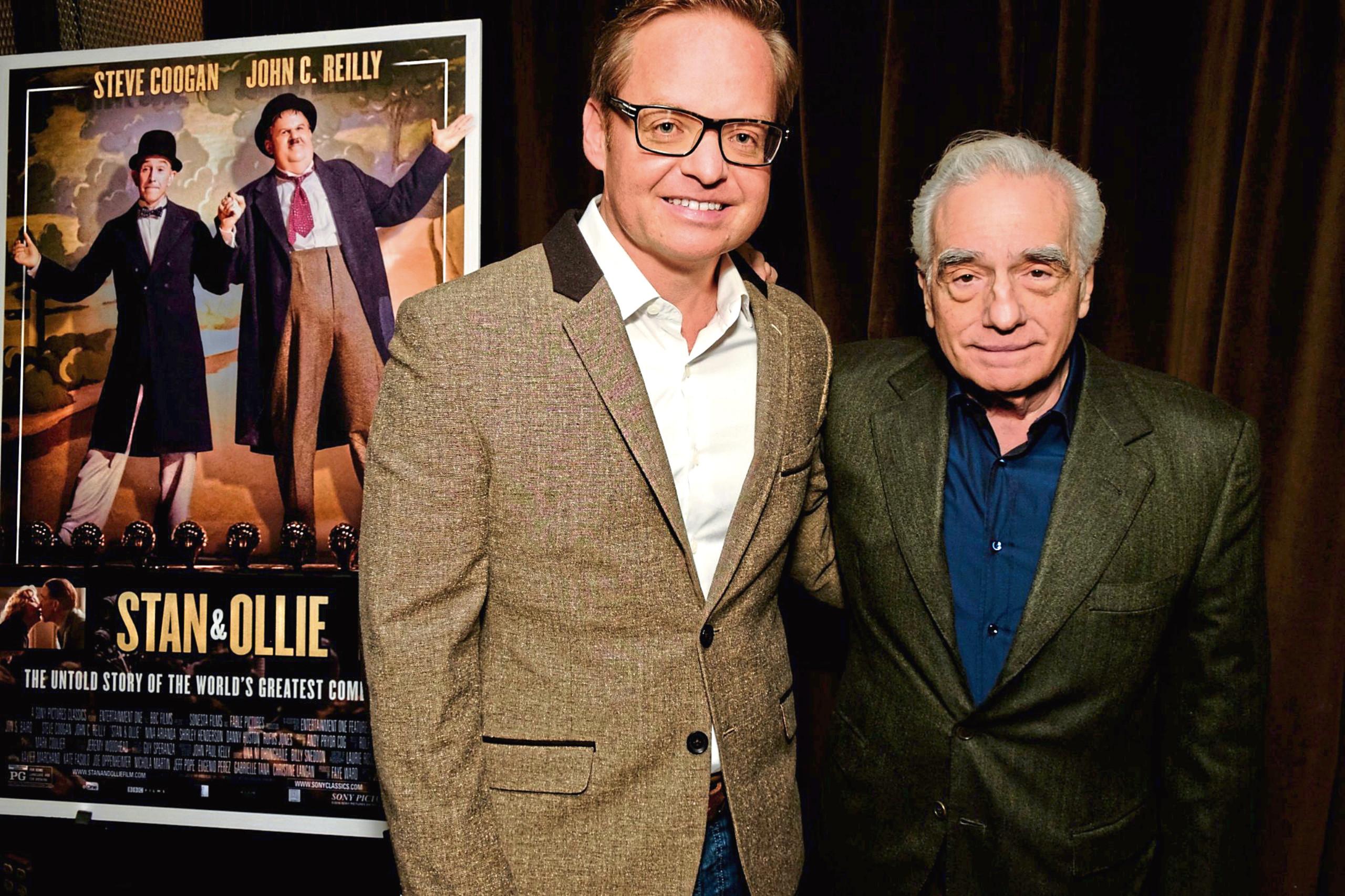 Jon S Baird with Martin Scorsese