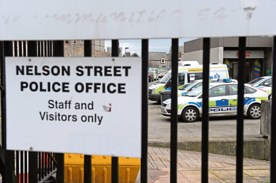 Police Scotland's Nelson Street office