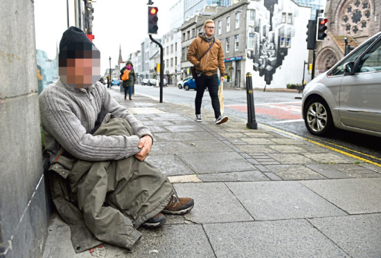 Aberdeen City Council is looking to reduce the amount of time that a person is homeless to 50 days