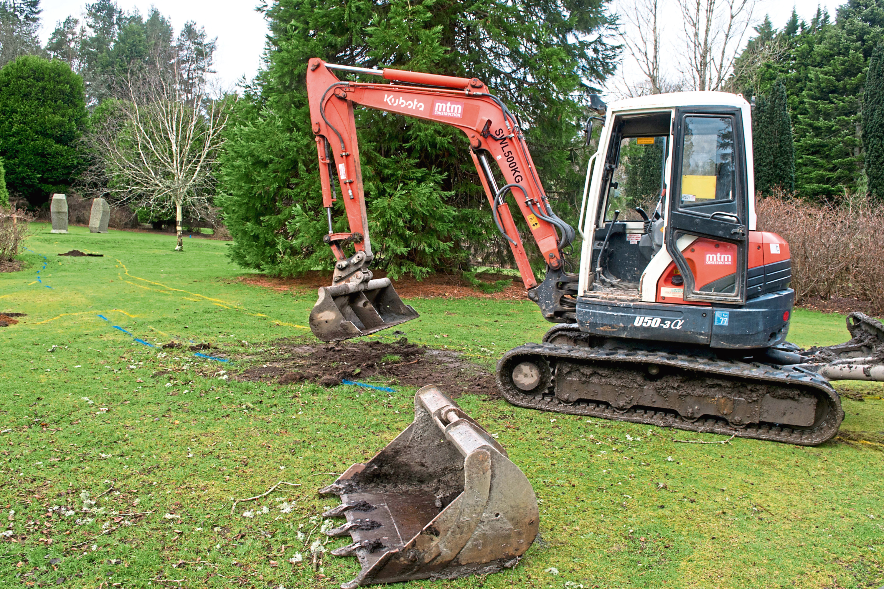 Work has started on a memorial garden for the victims of the baby ashes scandal and their families.