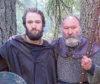 Phil Mills-Bishop, right, with son Brann