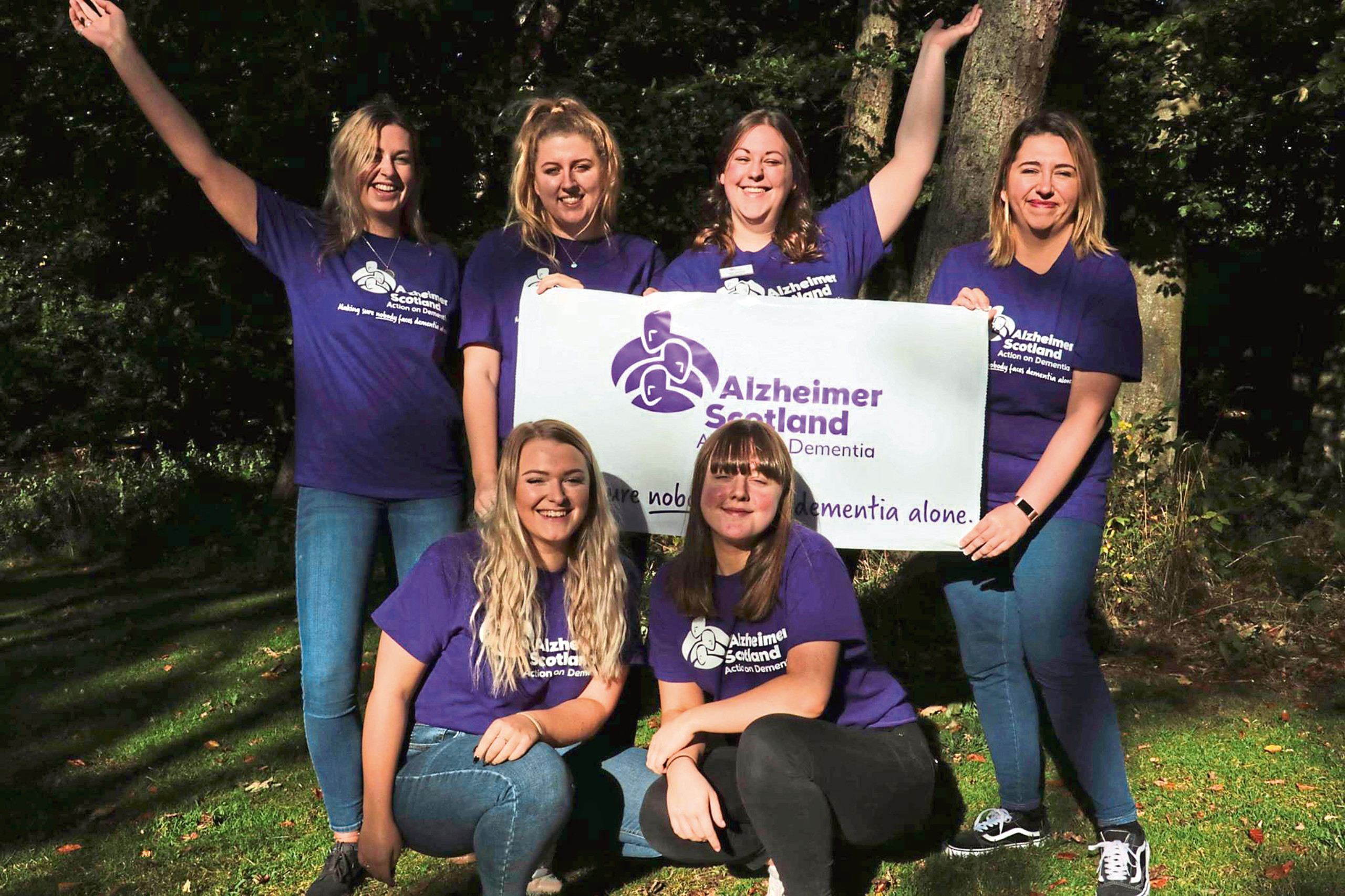 The Memory Lane Events team picked Alzheimer Scotland as their charity and are organising a dance afternoon at the Beach Ballroom