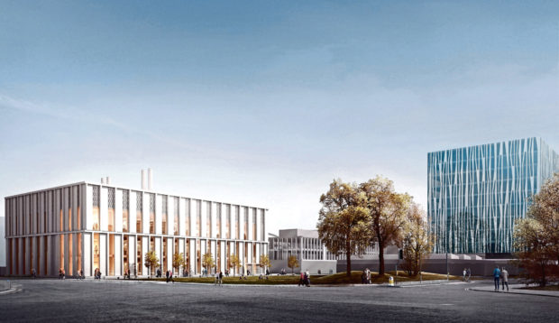 The new £35 million science teaching hub will see a new building dedicated to science laboratories in the grounds of the university.