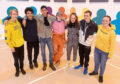Billy Reid, Tyler Genus, Ross Ross, Kayleigh Gillan, Kayleigh Barnes, Liam Munro and Siobhan Coates were part of the team that gave the centre a makeover