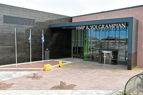 The incident happened at HMP Grampian