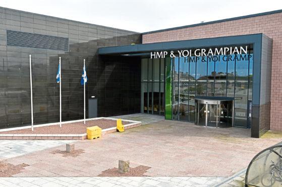 The incident happened at HMP Grampian