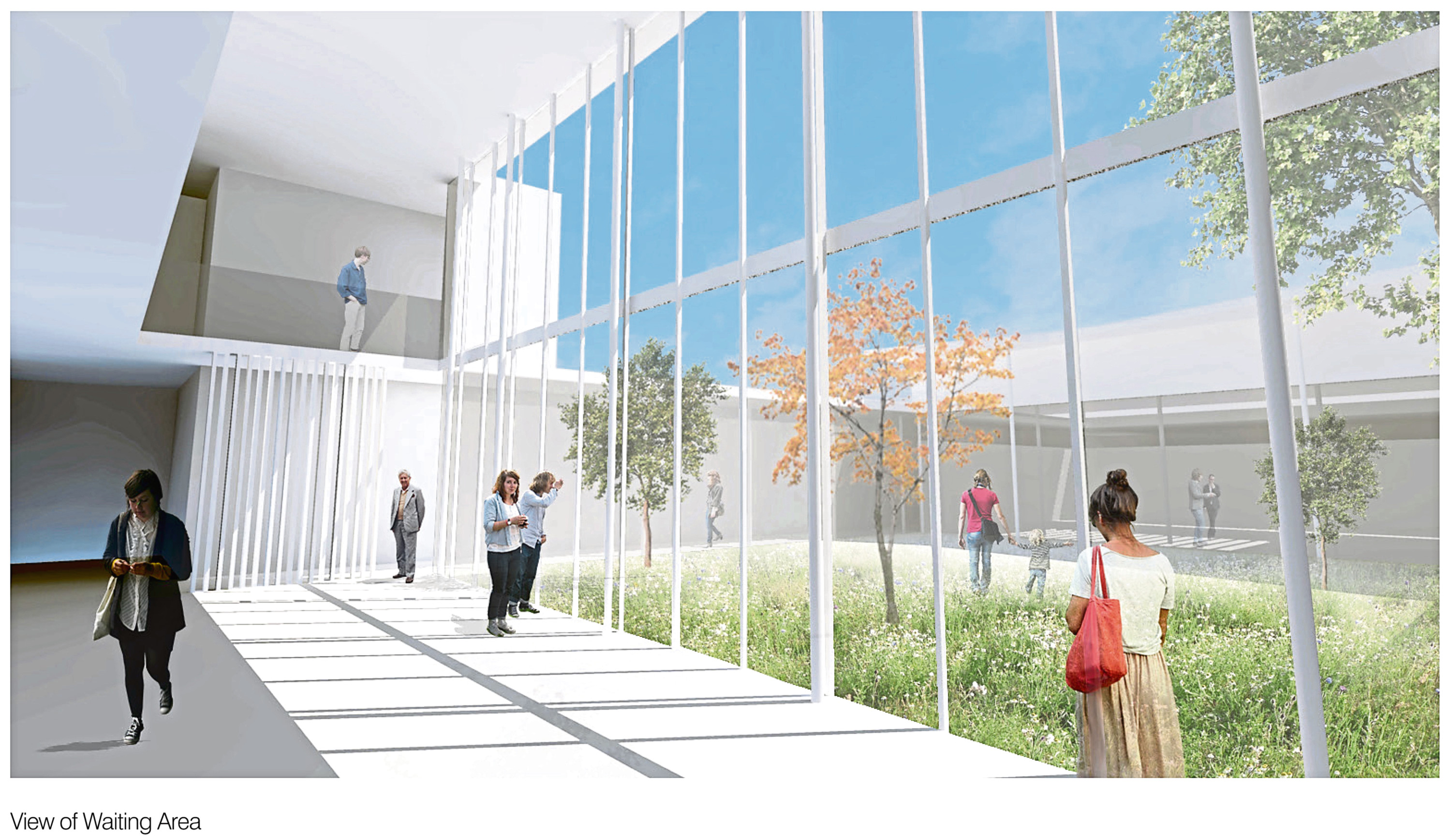 How the new health centre will look once complete